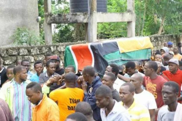 ODM MCA who died in a bus laid to rest in Mombasa (Photos)