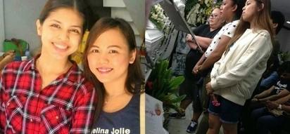 Kapuso actress Maine Mendoza visited slain die hard fan's wake despite her busy schedule
