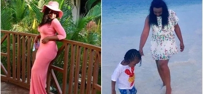 KTN screen siren Betty Kyallo and her daughter go on vacation and it is the cutest daughter-mum thing you ever saw