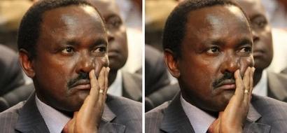This slight error could kick Kalonzo Musyoka of the 2017 election