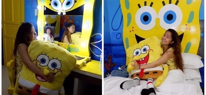 Katas ng pagsisikap! Kiray Celis thanks people who helped her achieve her very own dream Spongebob-themed room