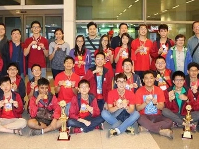 PH bags 23 golds, 6 silver and 3 bronze in international Math competition