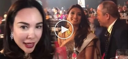 Jealous Gretchen Barretto catches Tonyboy flirting with Miss India, reminds both she's the 'wife' and they're on video