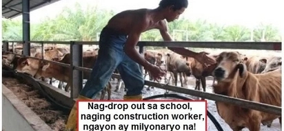 Yan ang ma-diskarte! Boy quits school, becomes a construction worker and is now a millionaire at the age of 33