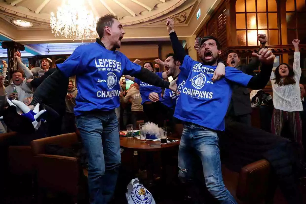 Leicester are the champions of English Premier League