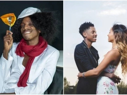 Eric Omondi reminisces on his romance with Italian girlfriend with a hot kissing photo