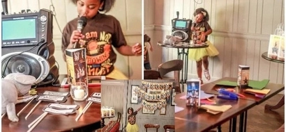 Girl, 8, asked her parents to let her celebrate her Birthday in museum, then this happened (photos)