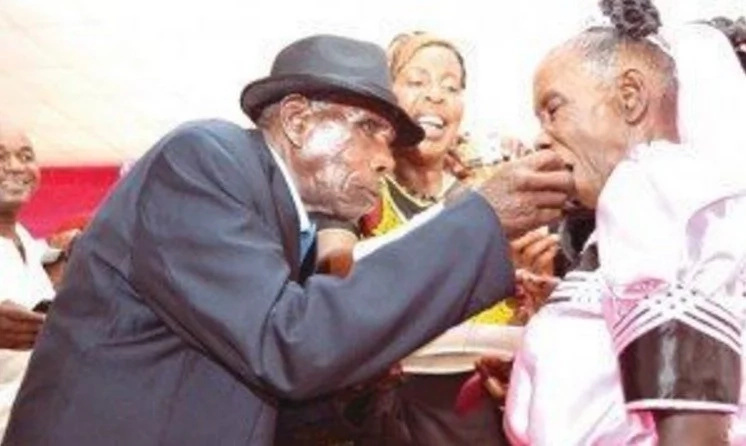 This oldest groom who REMARRIED at the age of 98 dies at the age of 102