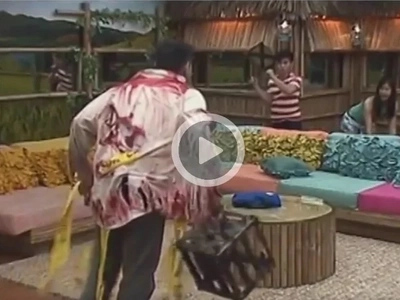 Nangtrip si Kuya! Horrified Yong and Kisses attacked by zombies in PBB house