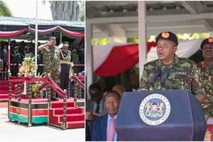Uhuru Kenyatta's sweet message to KDF turns UGLY
