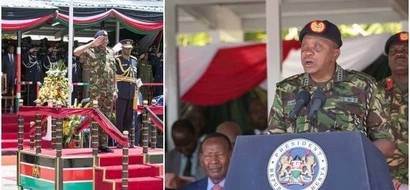 Uhuru Kenyatta's sweet message to KDF turns UGLY