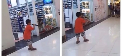Young boy amazed people and netizens after singing a rock song like no other in a mall!