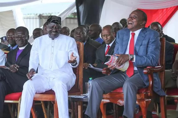 After abusing Turkana governor, Uhuru now launches a scathing attack on Raila while in Taita Taveta