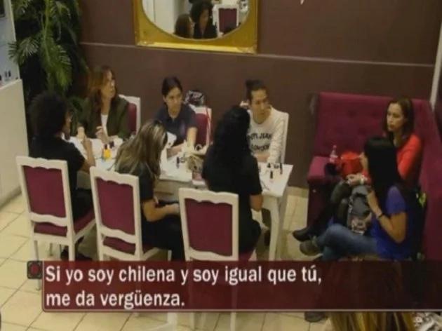Furiosa reacción de chilenos contra una mujer racista