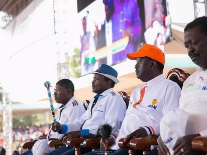Vinara wa NASA wakubaliana kuhusu mpango wa kuapishwa kwa Raila baada ya mkutano wa saa 5