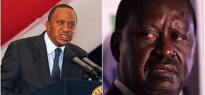 President Uhuru Kenyatta issues stern warning to NASA leader following Friday chaos