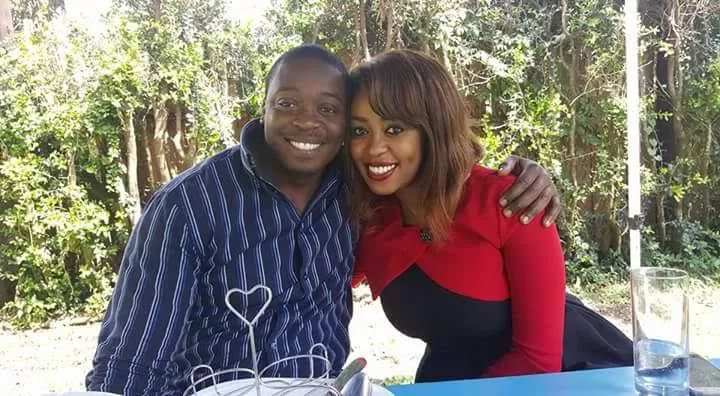 Citizen TV 's Lillian Muli denies allegations that she is dating this man