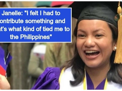 Filipino pride! Pinay na nagtapos ng 3 major, 'summa cumlaude' sa New York University