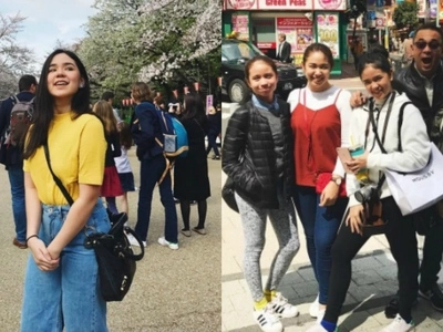 Mikee Quintos aka Lira spends holy week in Japan with fambam
