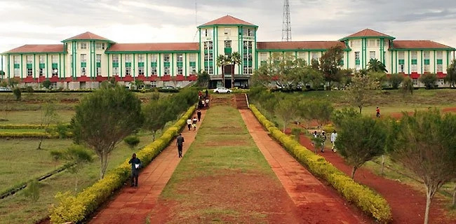 Riots in Moi University after another student is found dead (Photos)