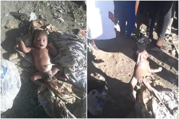 Heartbreaking video of Nairobi woman having thrown away her newly-born will bring you to TEARS