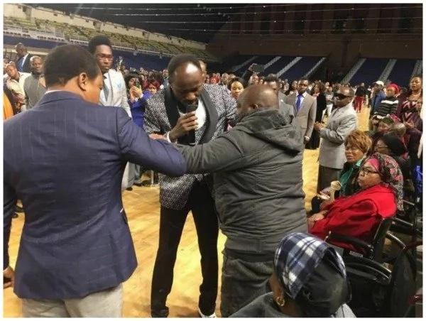 See moment apostle heals crippled, wheelchair-bound man (photos)
