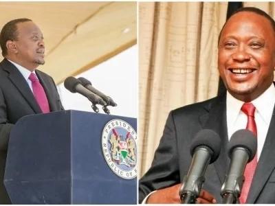 Ni nini alichokuwa akimezea mate Uhuru Kenyatta kwenye picha hii?