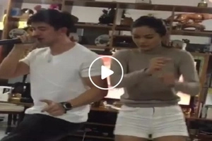 Maxine Medina shows off her dancing skills in this hilarious moment with Rodjun Cruz
