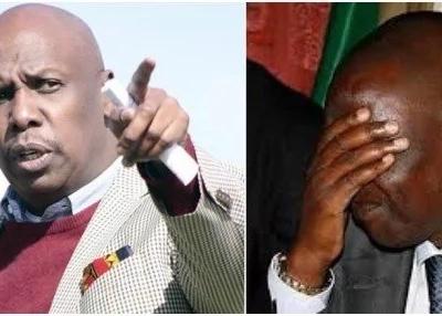 NIKOME ulivyolikoma titi la mama: Gideon Moi amwakia Ruto na kuapa kumkabili