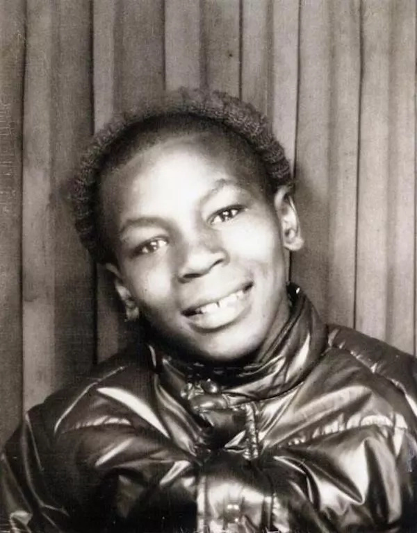 Tyson as a young boy. Photo: The Sun