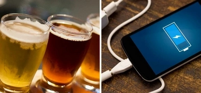 How tapping the power of beer could make a better smartphone battery