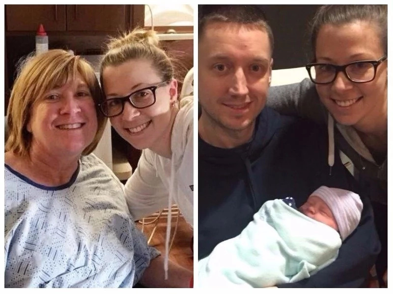 Grandma, 55, defies menopause to give birth to her own granddaughter and here is how it happened