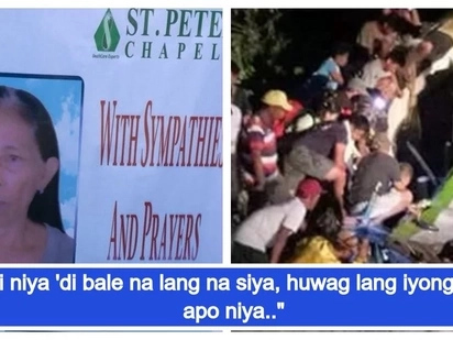 Sinakripisyo ang buhay para sa mga apo! A grandmother sacrificed herself to save the lives of her grandchildren