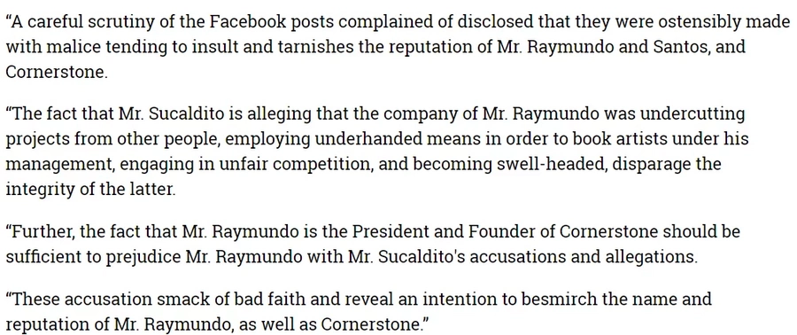 Nang dahil sa malisyoso at mapanirang Facebook posts! Jobert Sucaldito charged with 37 counts of cyber libel