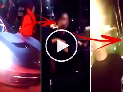 This beautiful black Corvette belongs to a famous Pinoy actor & he used it to fetch a famous Pinay actress. Watch their video here!