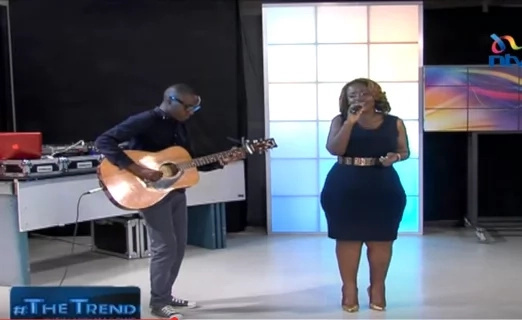 Kalekye Mumo's new look after shedding 40 Kgs
