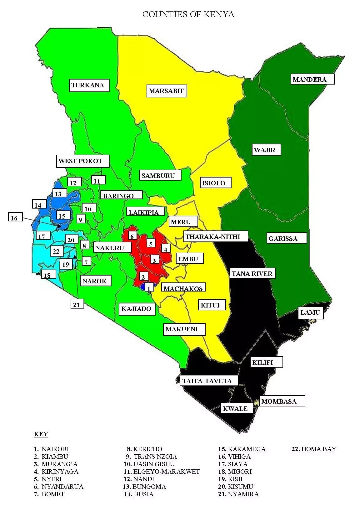 Counties in Kenya: Understanding the Devolved Government