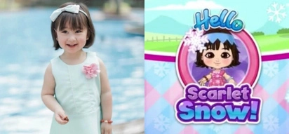 May sariling app siya! You can now play with the adorable Scarlet Snow Belo in your very own smart phone