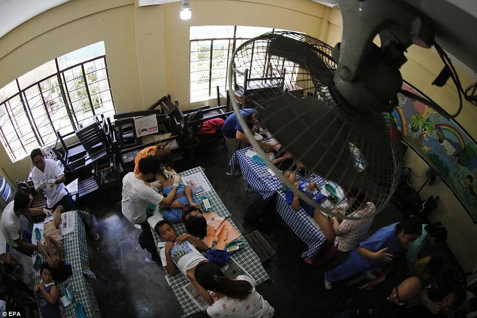 Hundreds of schoolboys circumcised together in Philippines