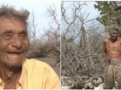 El único habitante de esta isla es un abuelito de 79 años, y no te imaginas cómo sobrevive allí