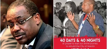 Mike Sonko starts 40 days and 40 nights prayer journey in attempt to capture Kidero's seat