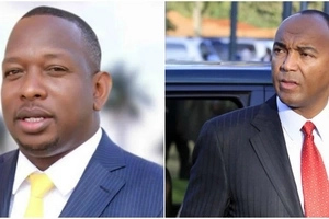 This 'Ruto project' cannot hide his brains behind his new suits- Peter Kenneth calls out Sonko