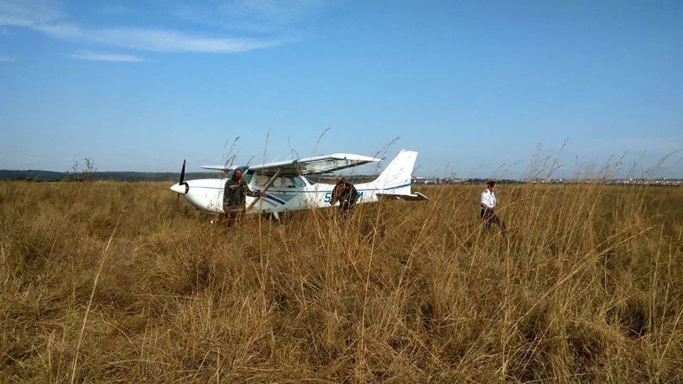 Aircraft crash-lands in Nairobi National Park