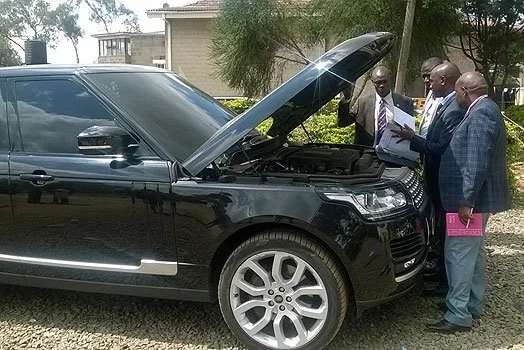 Eugene Wamalwa not yet free over 'smuggled' Range Rover