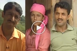 Two brothers married one woman and live together