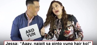 Super sweet pa rin nila! Dingdong gives Jessa super kilig moments with just a single line!