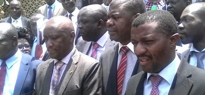 Agitated NASA MPs storm out of Parliament in protest of Uhuru's Cabinet nominees