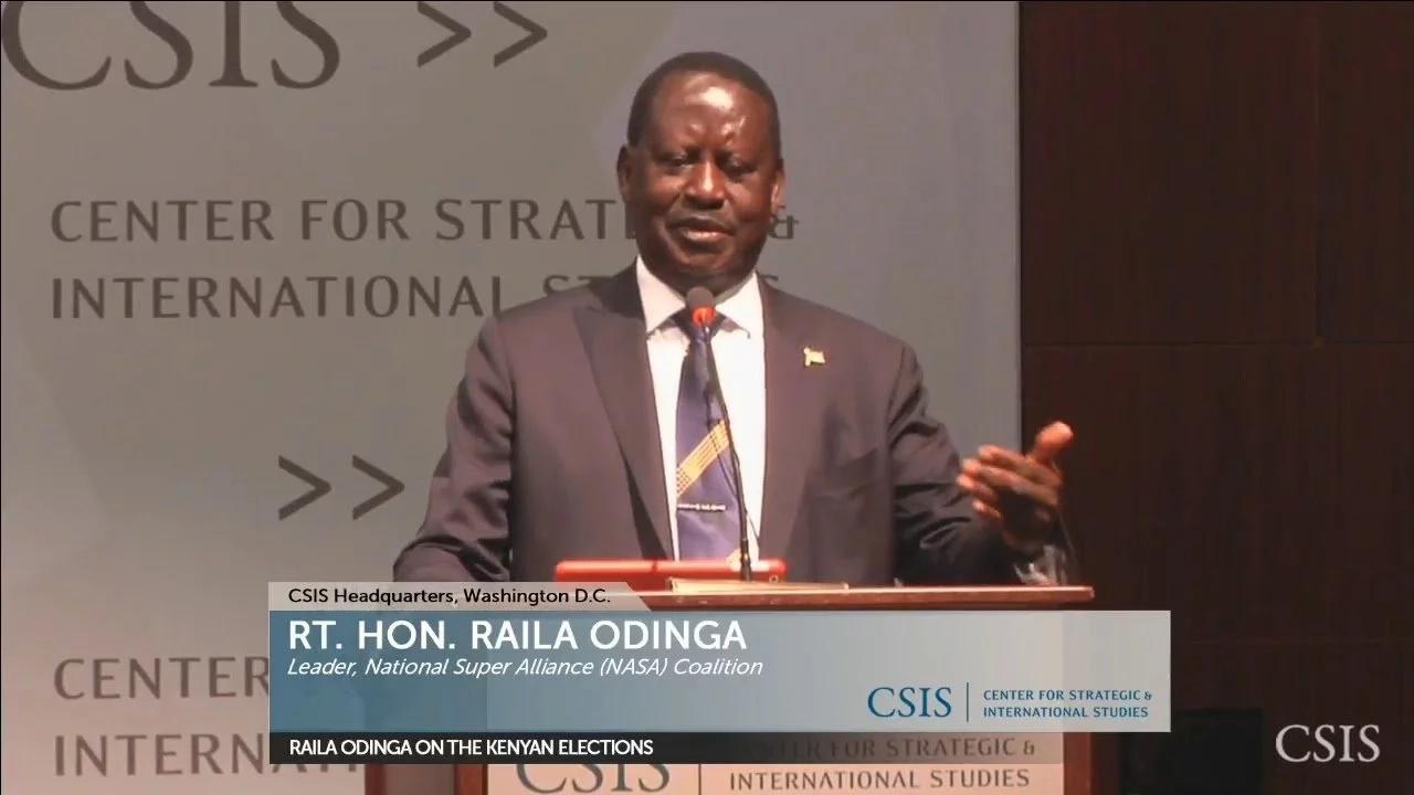 Raila accuses Uhuru of denying him pension
