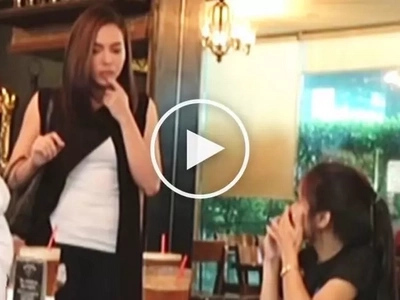 Julia Montes pranks her fans at restaurant by switching between personalities of Sara & Kara