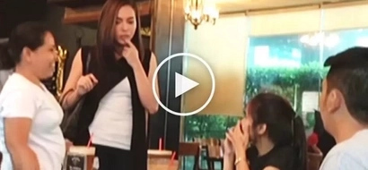Julia Montes pranks her fans at restaurant by switching between personalities of Sara & Kara